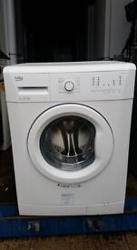 6kg 'Beko' Washing Machine - Excellent condition (6 months old) / Free local delivery and fitting