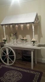 candy cart in derby. please phone for avalibility