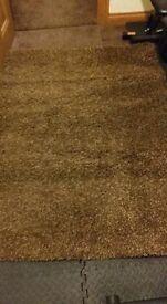 Brown rug £15