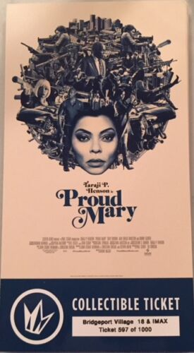 Proud Mary Collector Movie Ticket~! Multiples Available!