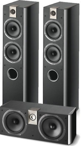 Focal Tower and center speaker