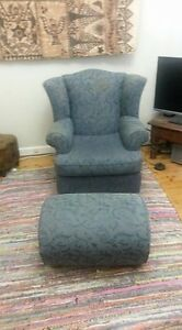 Freedom furniture armchair and ottoman Croydon Burwood Area Preview