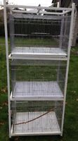 3 Stacking Cages on Stand