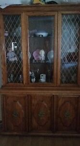 Approx 30 year old China cabinet