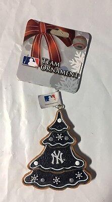Ny Yankees Ornaments (New York Yankees Gingerbread Tree Christmas Tree Xmas Ornament NEW - TREE )