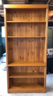 Sturdy Timber Bookshelf