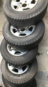 Ford Rims with LT245/75R16 M&S Tires - $450