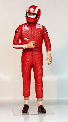 Jo SIFFERT  pilote PORSCHE 917 24h du Mans 1970 1/20 Figurine Diorama Driver