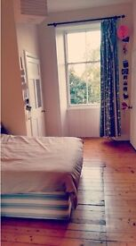 (December only) Lovely sunny bedroom in Marchmont