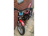 gasgas pro txt 280 2007 trials bike