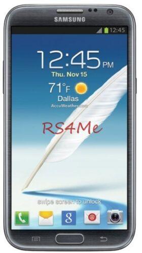 X3 Samsung Galaxy Note 2 At&t Verizon Sprint Matte Anti-glare Screen Protector