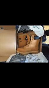 TIMBERLAND STEEL TOE 8 INCH SIZE 8.5 $150