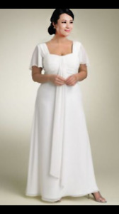 NEW Beautiful A-line Chiffon Wedding Dress