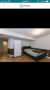 Basement Available Oct 1, Females/Couples only.Near Sq one