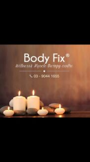 Body Fix Massage therapy and wellness Melbourne City Preview
