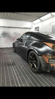 Qualified automotive spray painter available