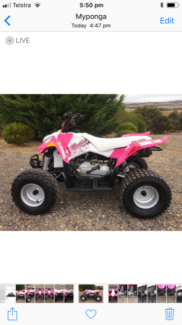 Polaris Outlaw 90 Quad Bike Myponga Yankalilla Area Preview