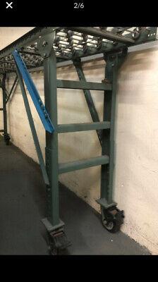 Hytrol Gravity Skatewheel Industrial Conveyor Rollersstands -prices Below
