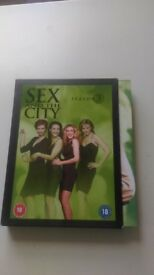 HBO Sex and the City Season 3 DVD box
