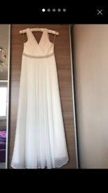 Ivory maxi wedding dress
