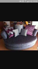 Sofa & Cuddler Armchair