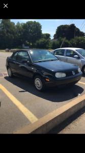 VW CABRIOLET SOFT TOP