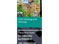 C&D DECKING AND FENCING SUPPLY AND FIT