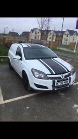 Vauxhall Astra sportive van £1650 ono