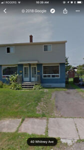Duplex for rent at $900