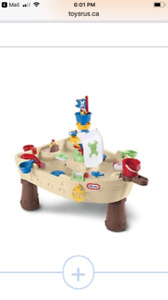 """LITTLE TIKES """"ANCHORS AWAY"""" WATER TABLE"""