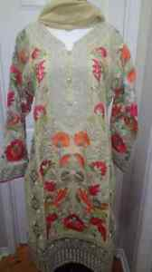 PAKISTANI AND INDIAN COTTON EMBRIODED CLOTHES