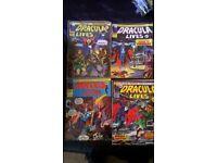 vintage dracula lives comics