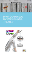 murder mystery / dinner theatre evening in Canal Flats