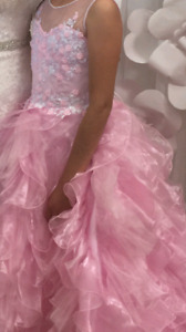 Elegant preteen special occasion dress