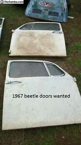 WANTED 1967 beetle doors