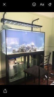 Wanted: Marine tank on stand with sump tank only