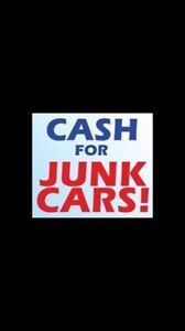 WE PAY CASH FOR SCRAP VEHICLES