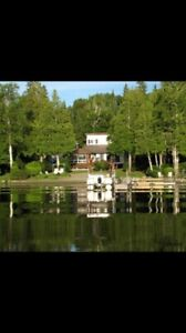 Cottage on Lac Labyrinthe in Rouyn Noranda