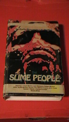 the slime people '62 video gems big box clamshell horror sci-fi tomorrow you die