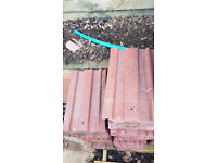 Centurion Forticrete low pitch roof tiles second hand