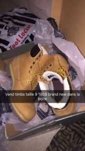 Timberland Boots Size 9 Brand New Homme
