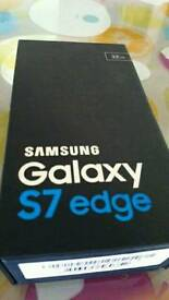 Silver Samsung Galaxy S7 Edge New & Unlocked