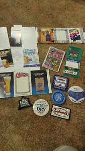 LABATT BEER memorabilia coasters advertising buttons stickers London Ontario image 1