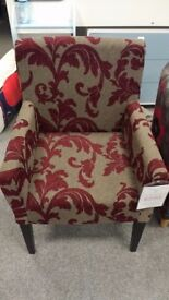 Plum/Red Chair