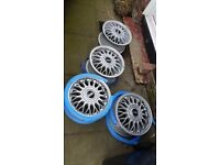 "Genuine BBS alloy wheels GREAT CONDITION 15"" 5X100."