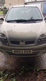Renault MEGANE SCENIC quick sale open to offers