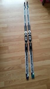 Brand new Jr Salomon S Lab Classic ski with SNS bindings