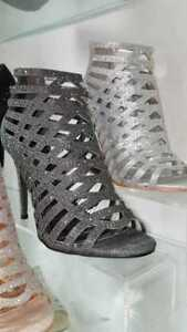 FREE DELIVERY: Crystal Ankle High Gladiator