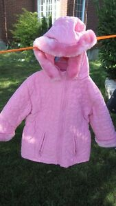 2 Pink Winter Jackets for Sale size 3