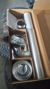 Mr Heater Vertical vent kit and extra b-vent 4 inch Cambridge Kitchener Area image 2